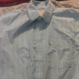 Abercrombie & finch long sleeve button down